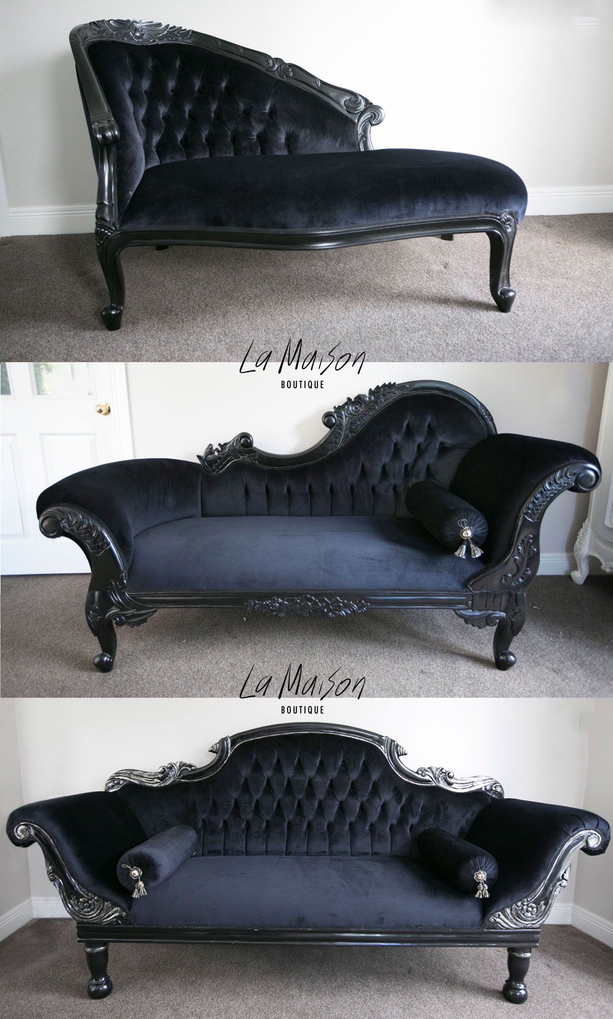 How to style a chaise longue la maison boutique for Chaise longue chilienne