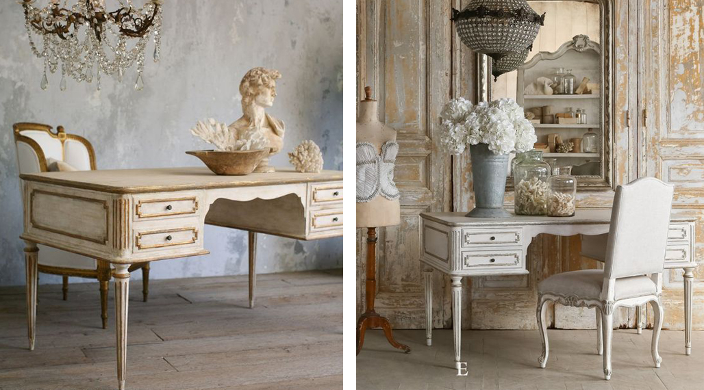 From Shabby Chic Study Areas To Luxurious French Provincial Office Spaces  And Everything In Between, Here Are A Few Of Our Favourite French Inspired  Home ...